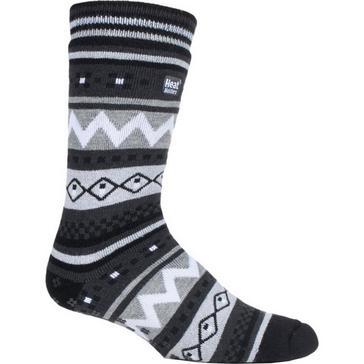 Heat Holders Men's SOUL WARMING Dual Layer Slipper Socks