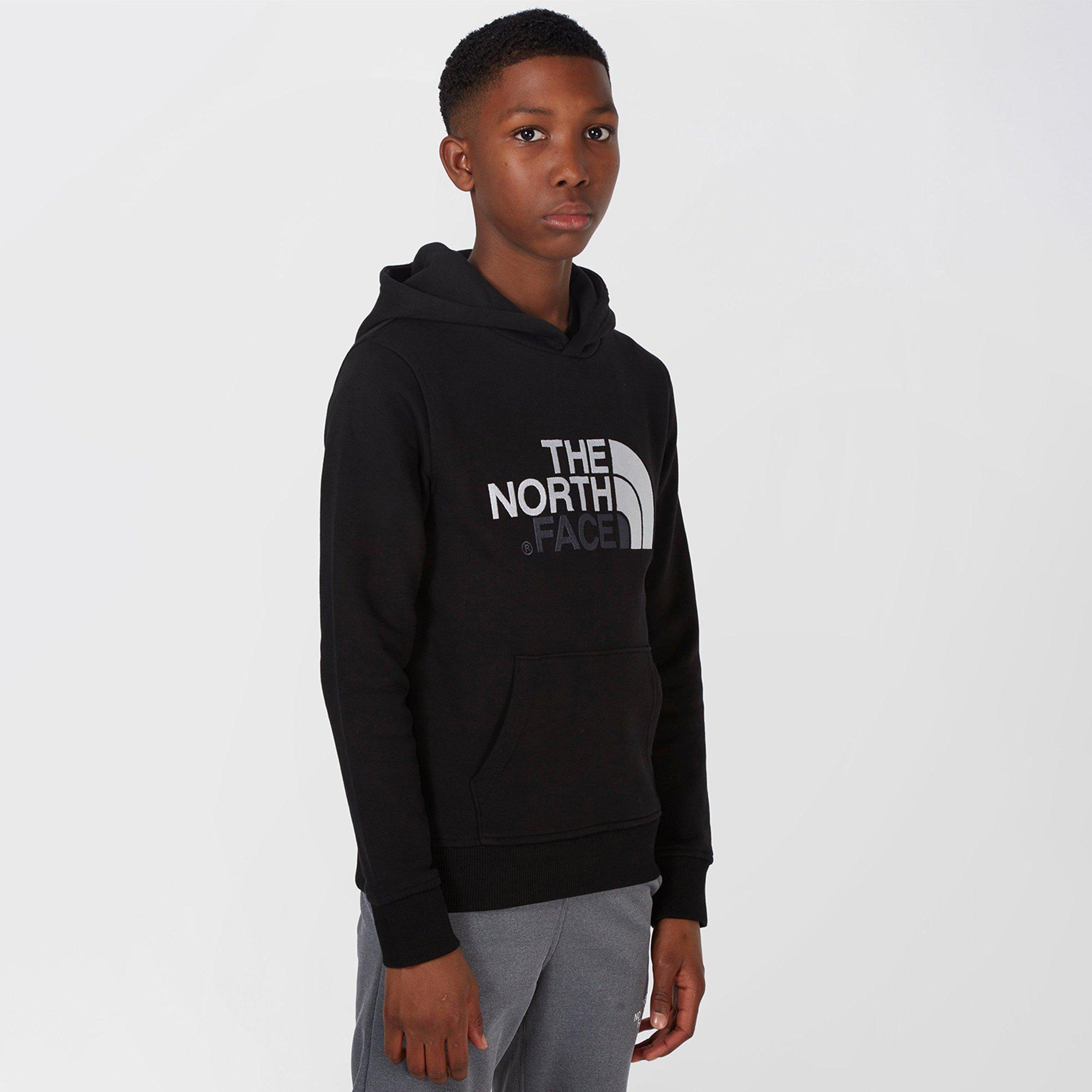3d9ba3f6 Black THE NORTH FACE Kids Drew Peak Hoodie image 1