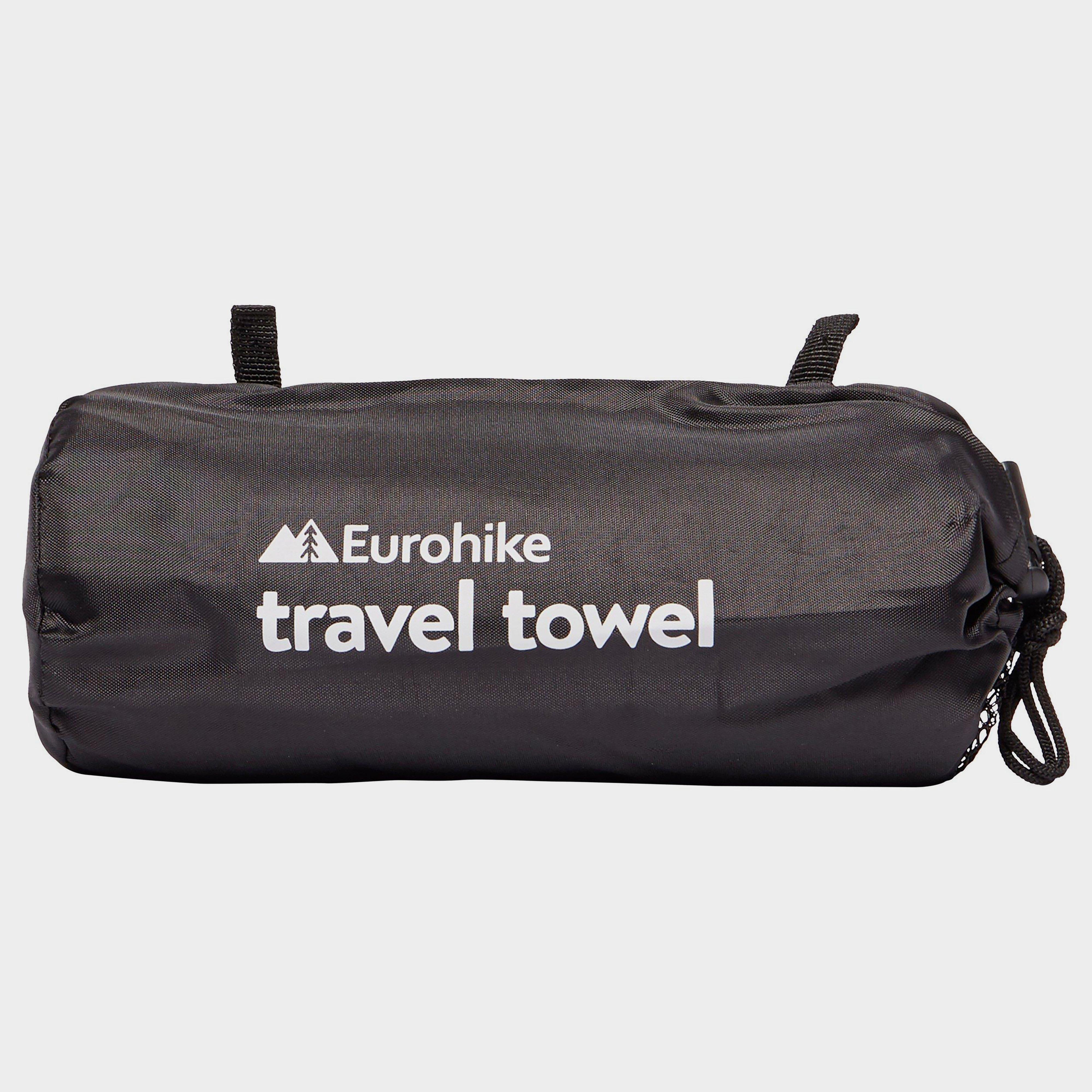 Eurohike Eurohike Micro-Fibre Suede Towel Large - Blue, Blue