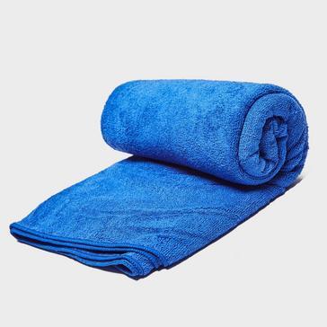 Blue Eurohike Terry Microfibre Towel - Large