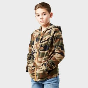 PETER STORM Boy's Full-Zip Camo II Fleece