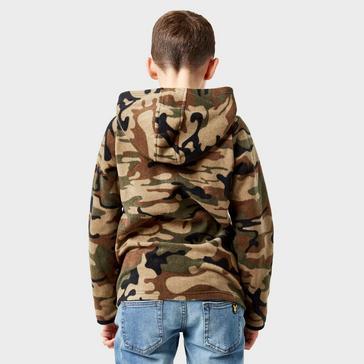 Khaki Peter Storm Boys' Camo II Hoody