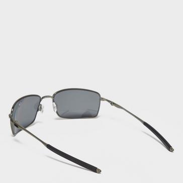 BLACK Oakley Square Wire ™ Polarised Sunglasses