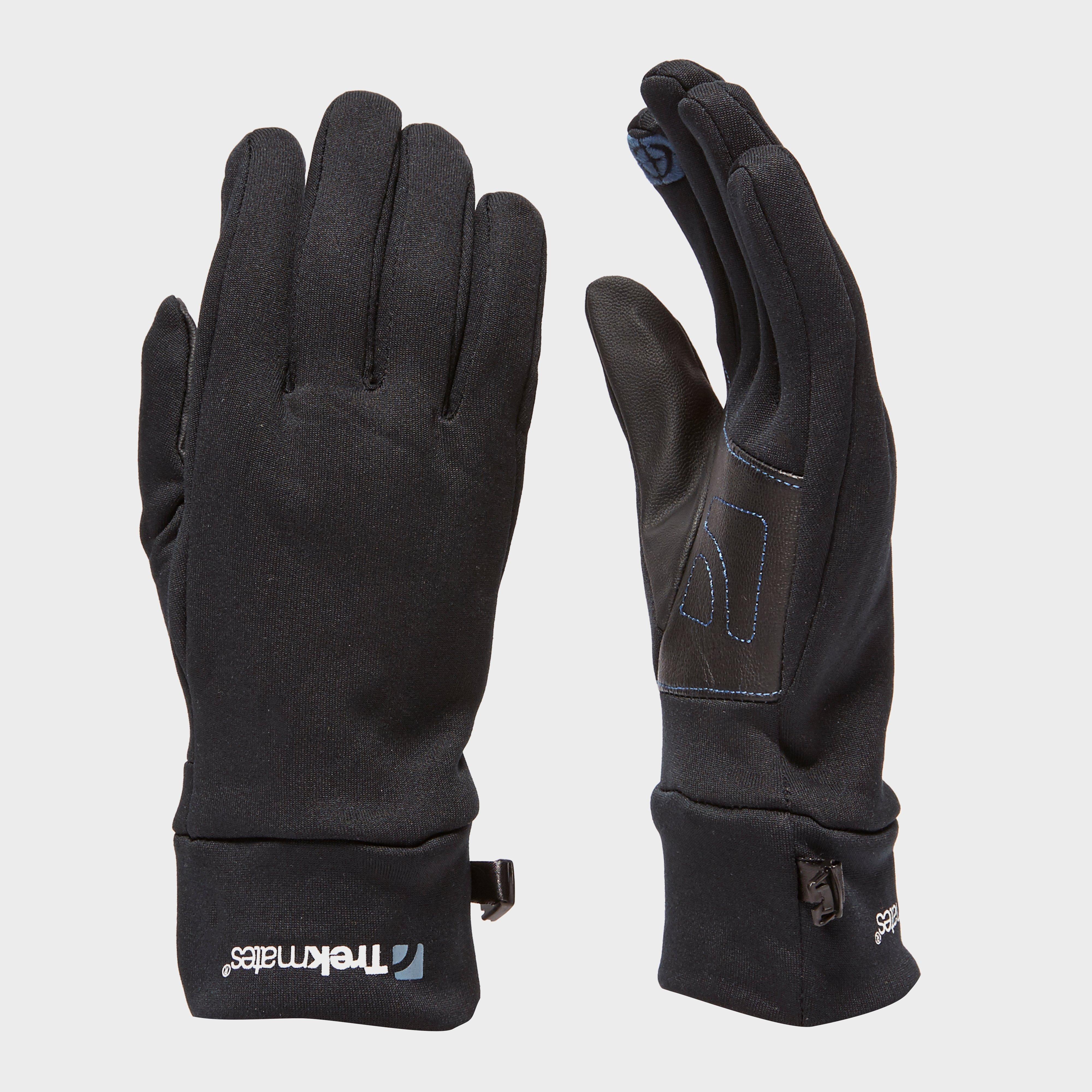 Trekmates Unisex Ullscarf Glove - Black, Black