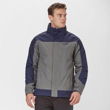 Grey|Grey Peter Storm Men's Lakeside II 3 in 1 Jacket