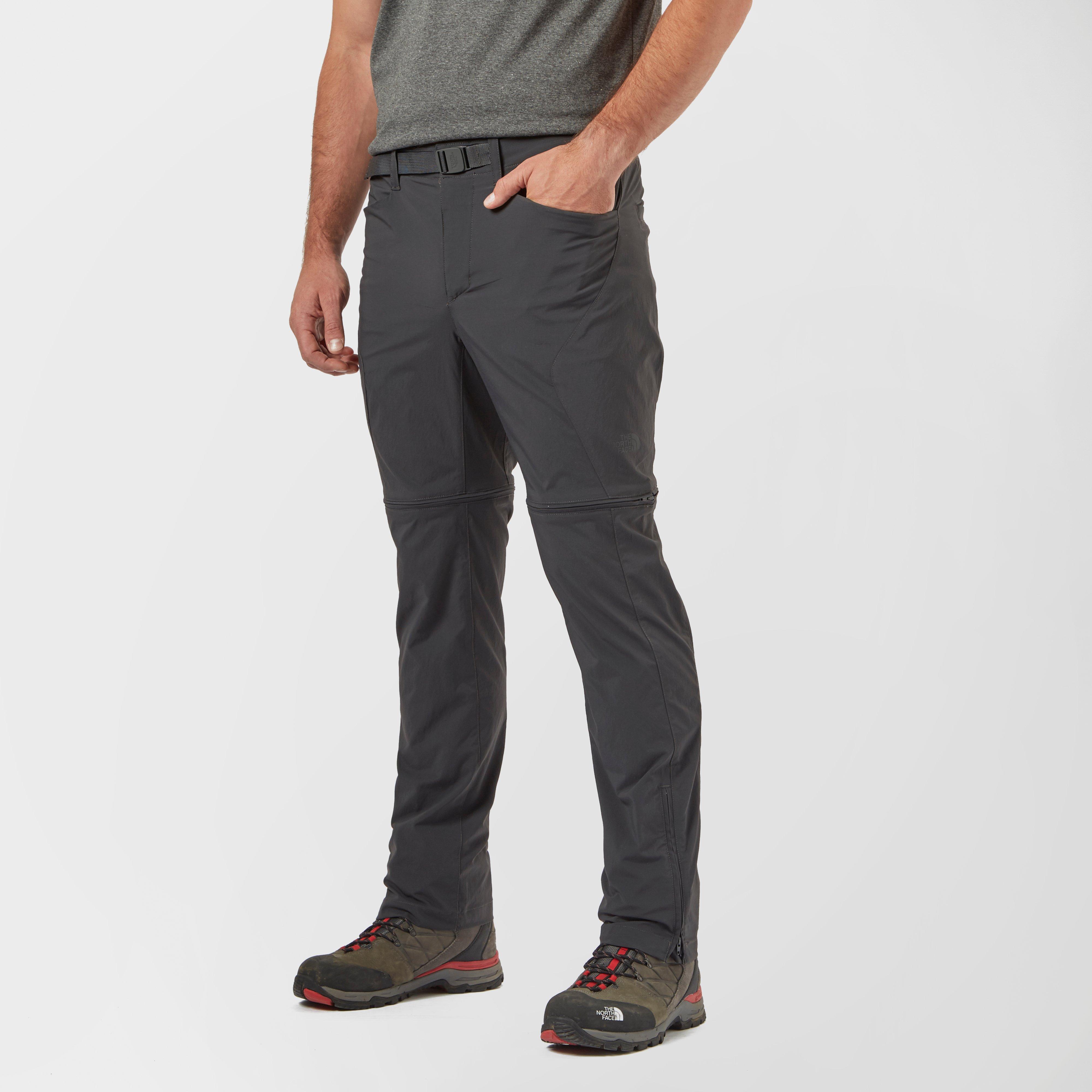 The North Face Mens Paramount 3.0 Convertible Pant Grey