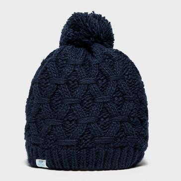 Navy Alpine Women's Sapphire Bobble Hat