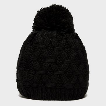 Black Alpine Women's Sapphire Bobble Hat