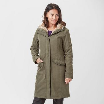 Olive Peter Storm Women's Glacier II Insulated Parka