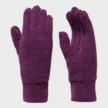 Purple Peter Storm Women's Thinsulate Chennile Gloves