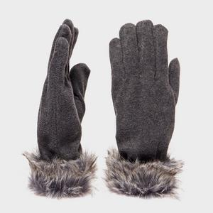 PETER STORM Camilla Fur Trimmed Gloves