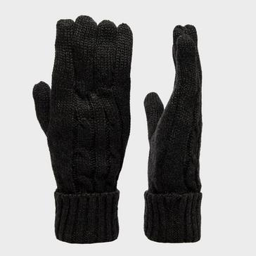 Black Peter Storm Women's Cable Knitted Gloves