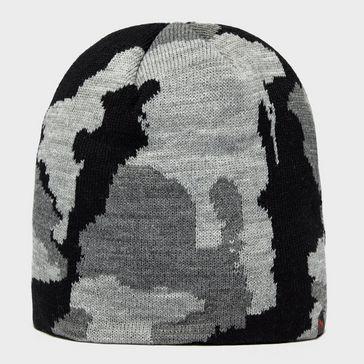 c44cd23692d Black PETER STORM Men s Justin Camo Beanie Hat ...