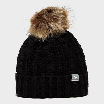 Black Peter Storm Girls' Maisy Bobble Hat