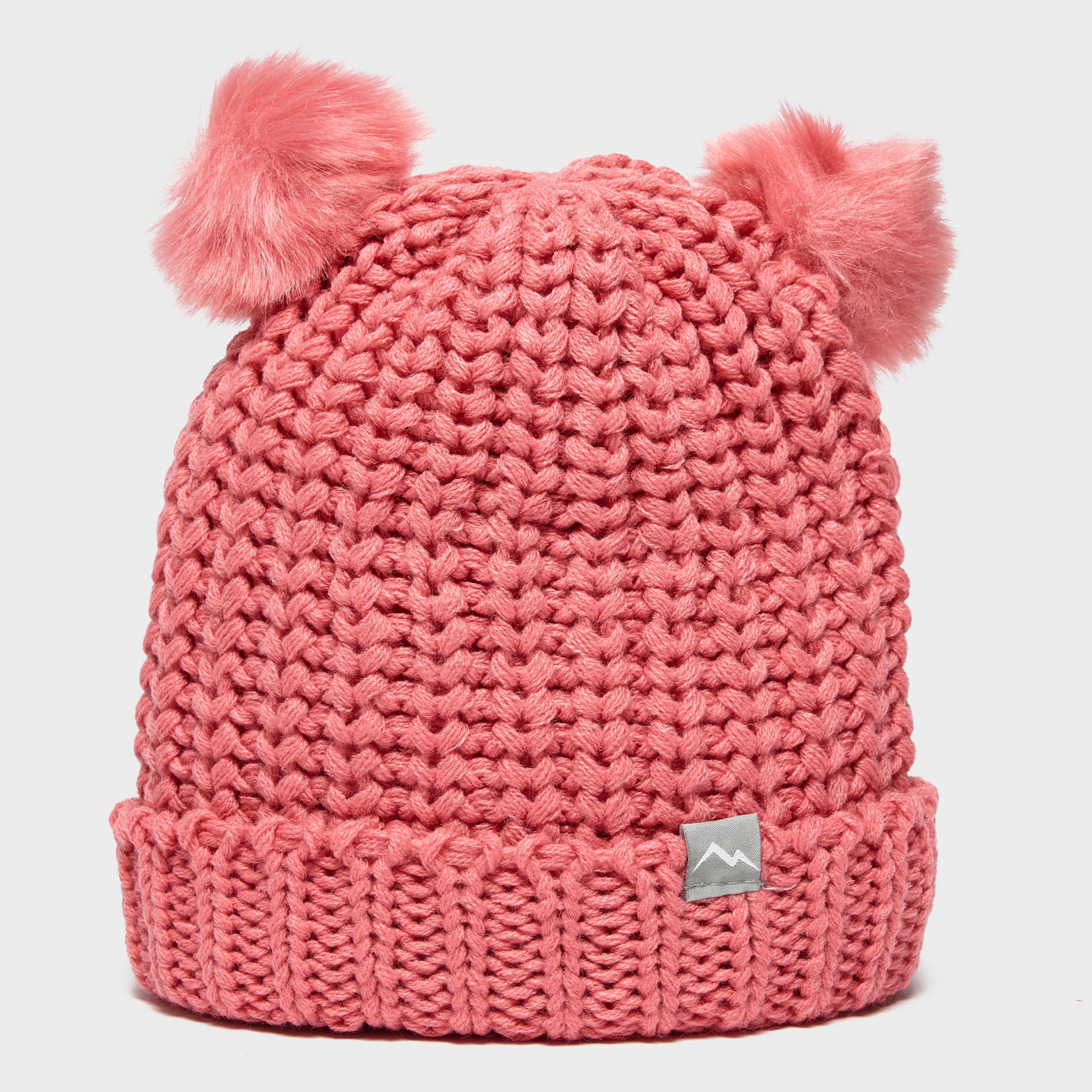 PETER STORM Girl's Double Pom Hat