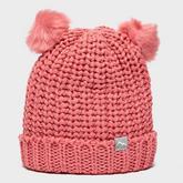 Girls' Double Pom Pom Hat