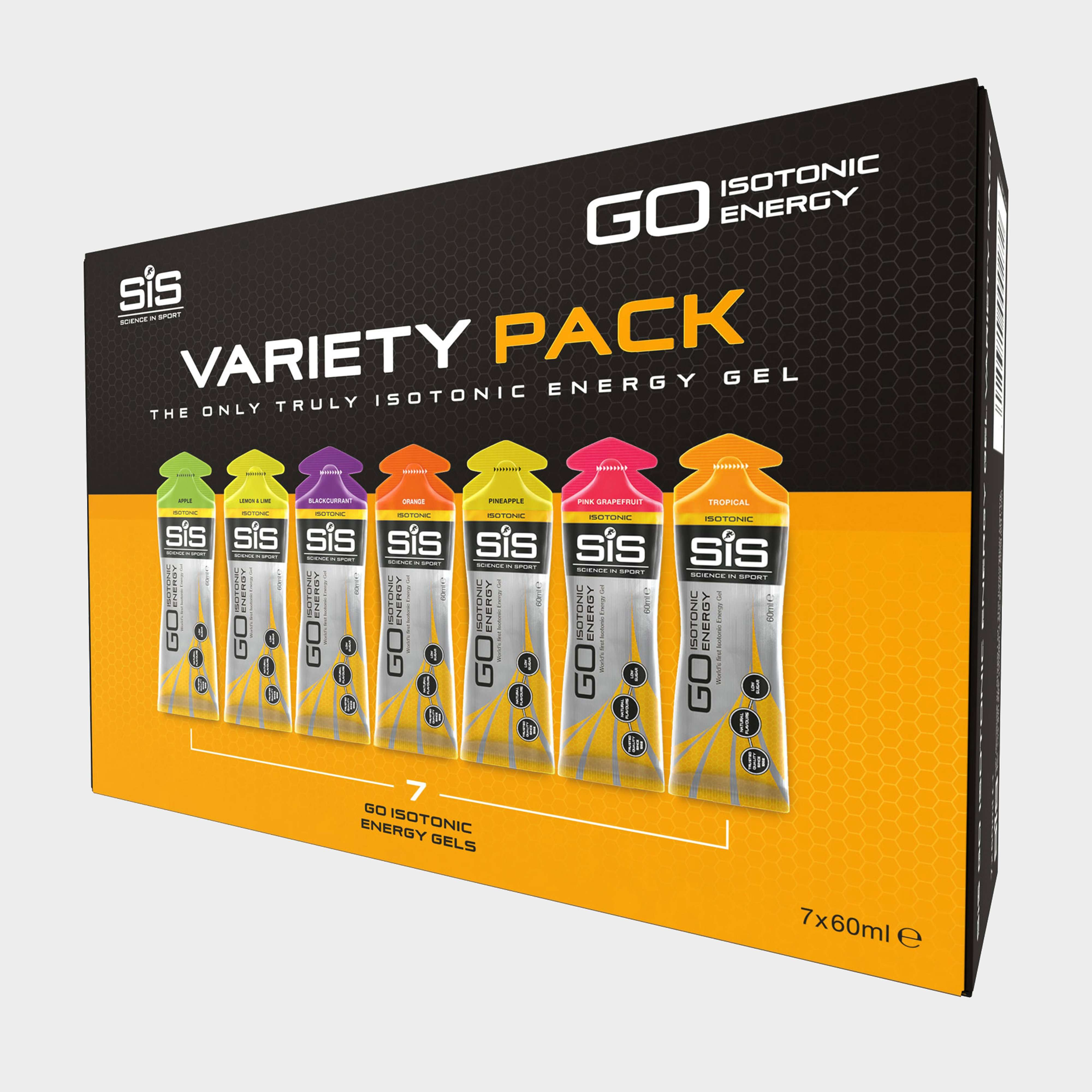 SIS GO Isotonic Gel 7x60ml Variety Pack