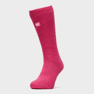 Pink Heat Holders Girls Original Thermal Socks