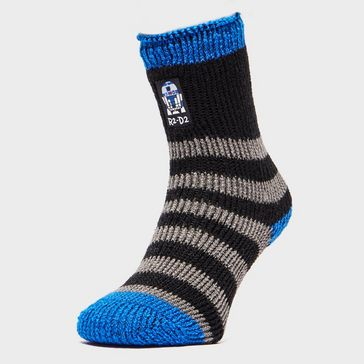 d16273f61 Black HEAT HOLDERS Kids' Star Wars Slipper Socks ...