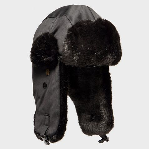 2624cb6f89f1d Buy One Get One Half Price. Black ALPINE Women's Fur Trapper Hat ...