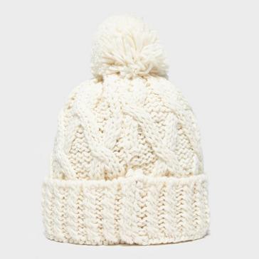 Cream Alpine Women's Chunky Bobble Hat