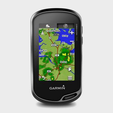 Black Garmin Oregon® 700 Handheld GPS