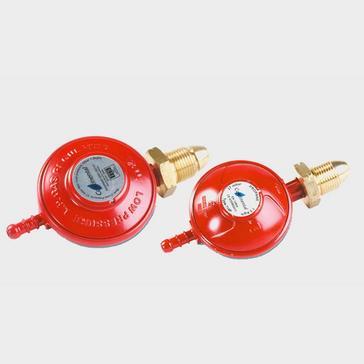 Red Continental Propane Gas Regulator