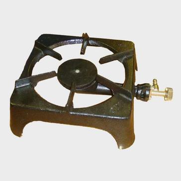 black Continental Cast Iron Single Burner