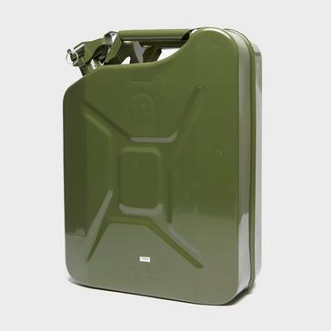 Green STREETWIZE Jerry Can 20L