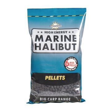 Dynamite Marine Halibut Pellets 6mm 1 Kg Fishing Match Bait