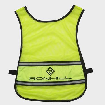 Yellow Ronhill Unisex Vizion Hi-Vis Running Bib