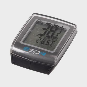 Grey RSP 20 Function Wire Free Cycling Computer