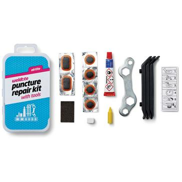 MULTI Weldtite Puncture Cure Kit (includes Spanner and Tyre Lever
