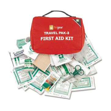 Red HI-GEAR First Aid Kit 3 (22 Items)