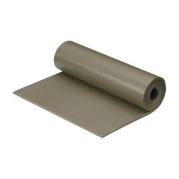 Green HI-GEAR Military Foam Sleeping Mat