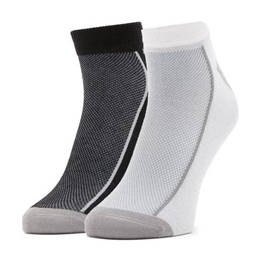 Grey Samuel Eden GO Running Low Socks