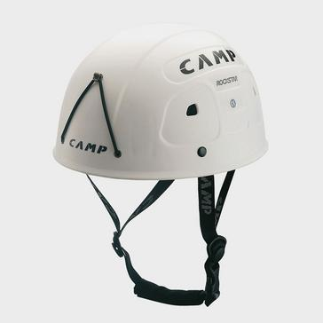 WHITE Camp Rockstar Climbing Helmet