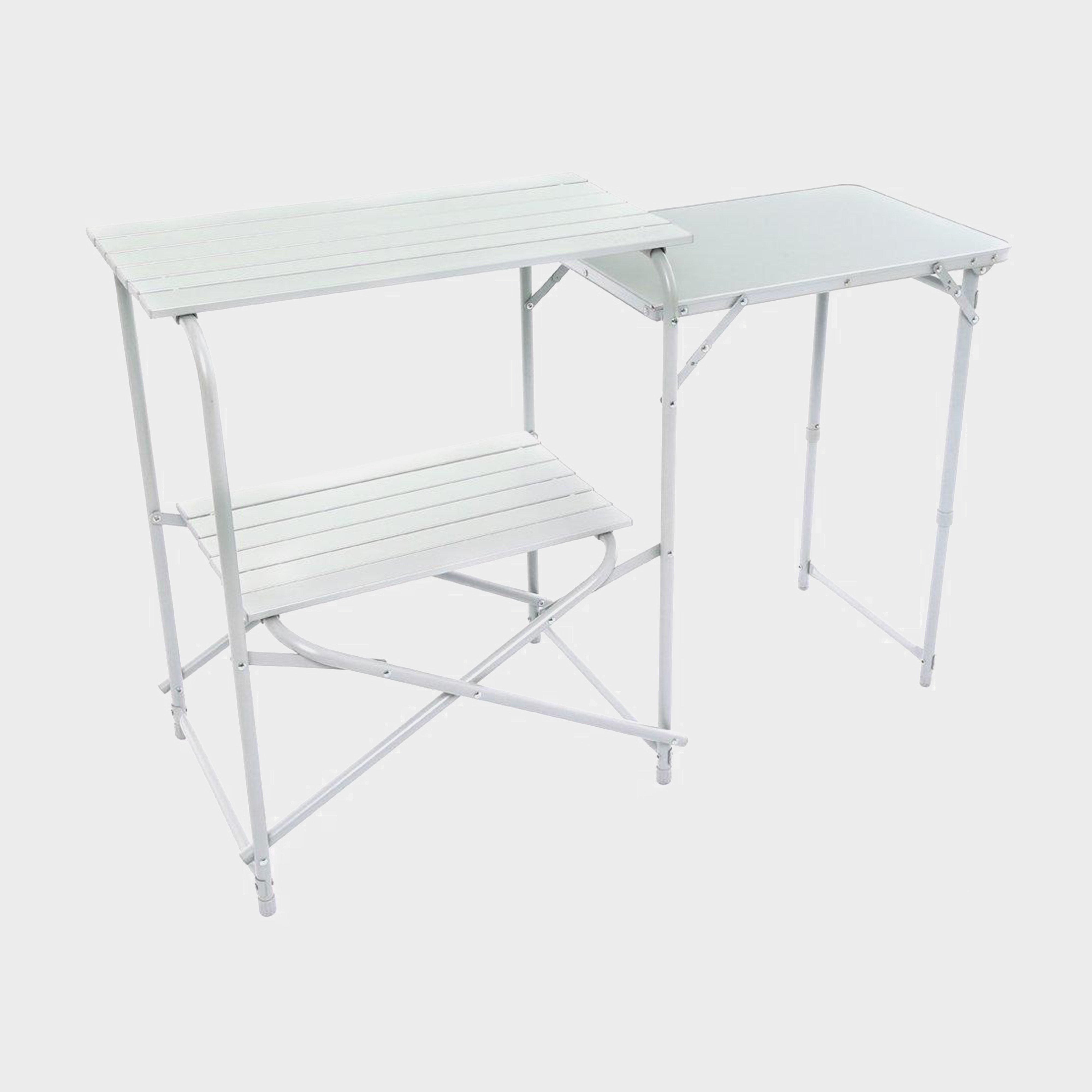 Hi-Gear Elite Kitchen Stand - Grey/With, Grey/WITH