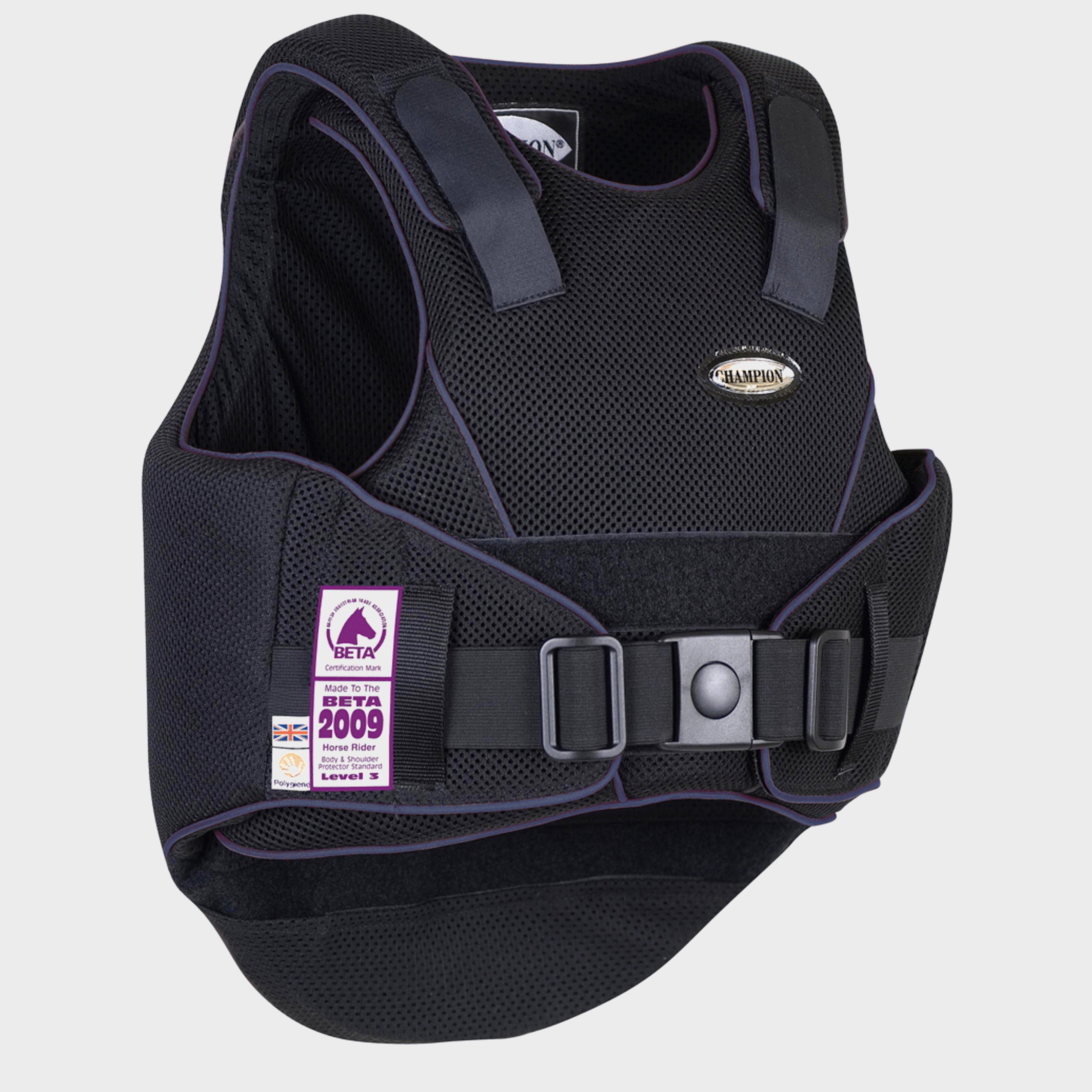 Image of Champion Flexair Body Protector (Small) - Black/[Xl], Black/[XL]
