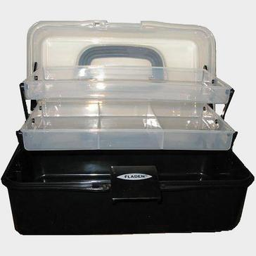 BLACK FLADEN Two Tray Cantilever Box Large