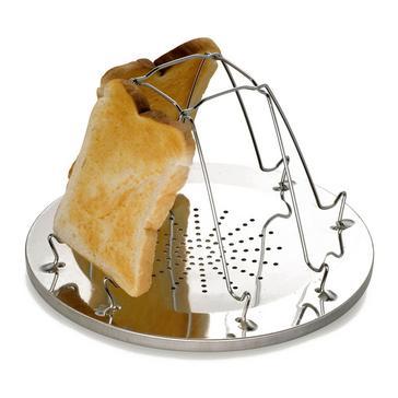Silver HI-GEAR Folding Toaster (4 slice)