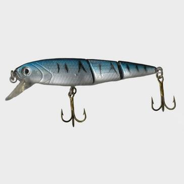 Blue FLADEN Eco Double Jointed Blue Mackerel Plug, 10.5g
