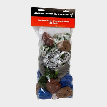 Multi Metolius Greatest Chips Screw On Holds (Pack of 40)
