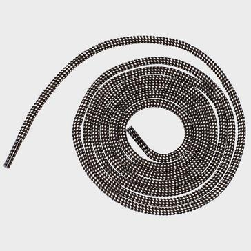 Black 1000 MILE Walking Lace, Black/Stone (60