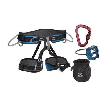 BLACK Climb X Pilot Harness and Belay Set