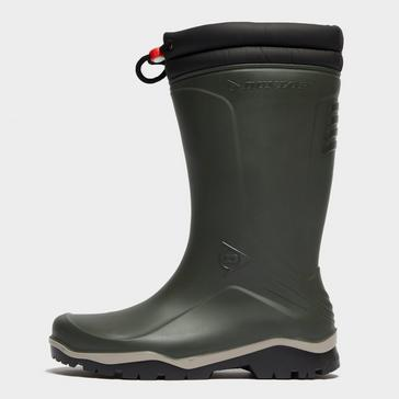Green Dunlop Blizzard Winter Boot