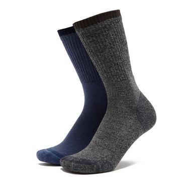 Multi HI-GEAR Kids' Walking Socks (2 Pair Pack)