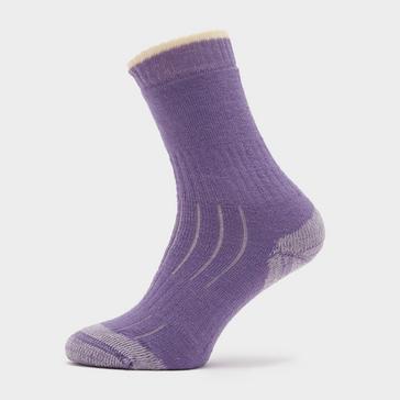 Purple HI-GEAR Women's Merino Socks