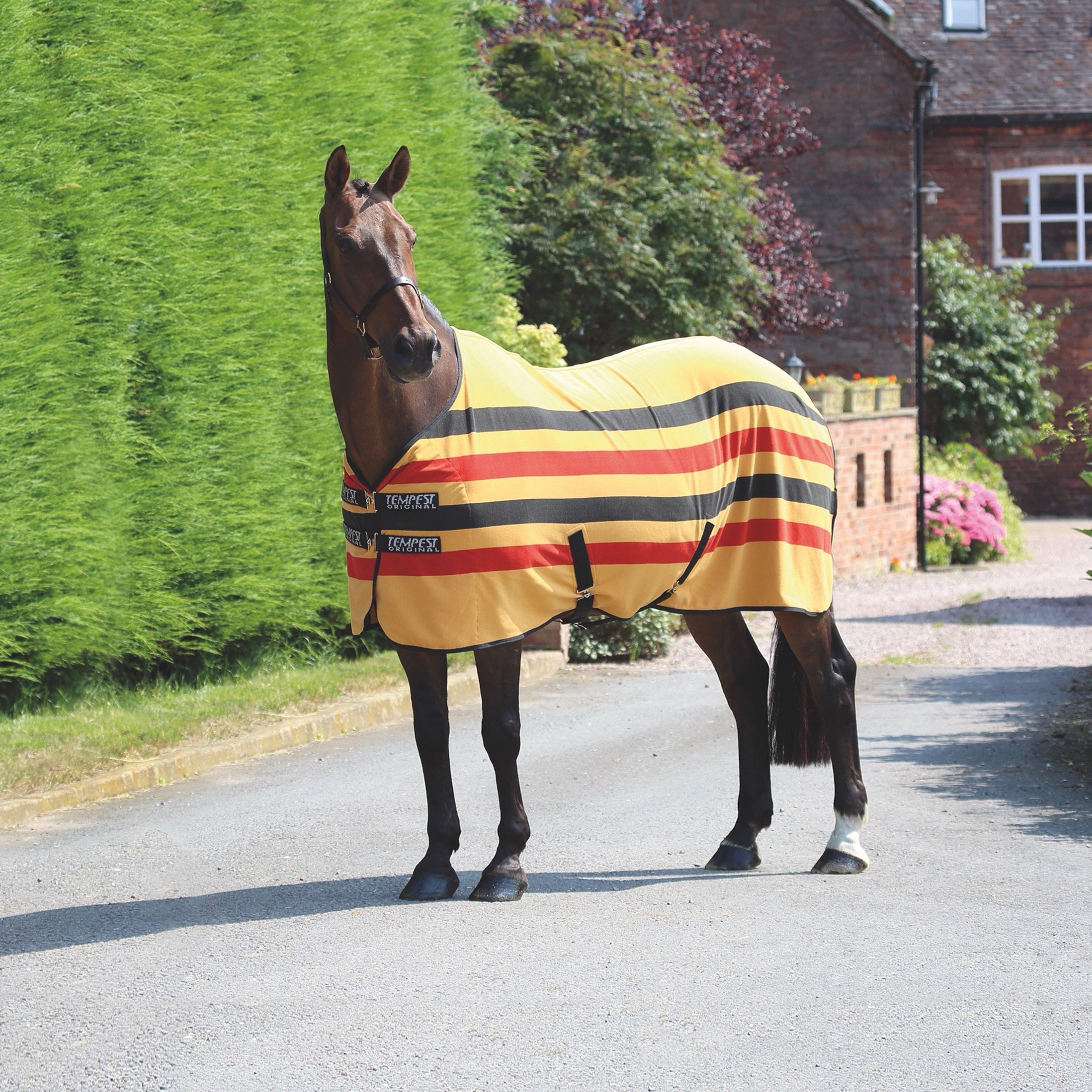 Image of Shires Newmarket Fleece Rug - Yellow/Rug, Yellow/RUG