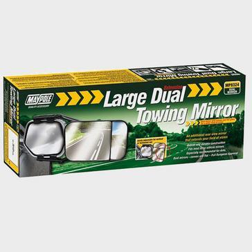 Multi Maypole Large Dual Towing Mirror
